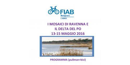 Ciclovacanze 2016   Ravenna e Delta del Po