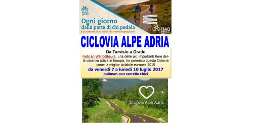 Ciclovacanze 2017   Alpe Adria