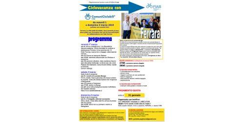 Ciclovacanze 2019 | Ferrara