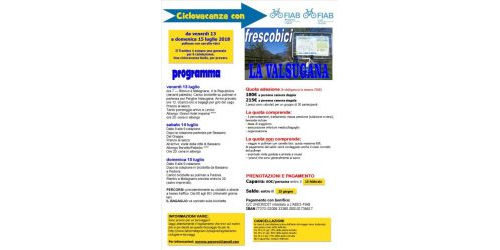 Ciclovacanze 2018 | Valsugana